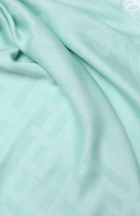 Женская шаль BOSS зеленого цвета, арт. 50430771 | Фото 2