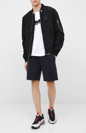 Мужские комбинированные кроссовки HUGO черного цвета, арт. 50433618 | Фото 2