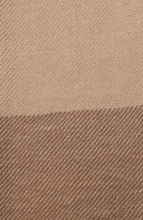Мужской шарф из шерсти и кашемира BRUNELLO CUCINELLI темно-синего цвета, арт. MSC640AG | Фото 2