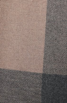 Мужской шарф из шерсти и кашемира BRUNELLO CUCINELLI светло-бежевого цвета, арт. MSC640AG | Фото 2