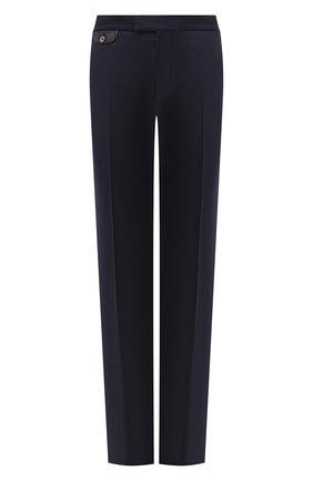 Мужской брюки из шерсти и кашемира ZILLI темно-синего цвета, арт. M0U-40-38P-D6304/0001 | Фото 1