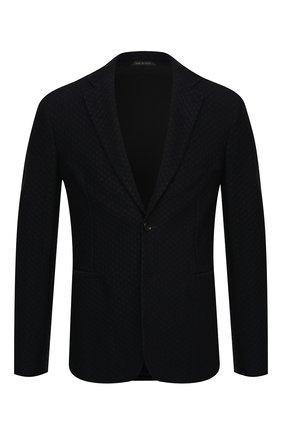 Мужской пиджак GIORGIO ARMANI темно-синего цвета, арт. 9SGGG06L/J0037 | Фото 1