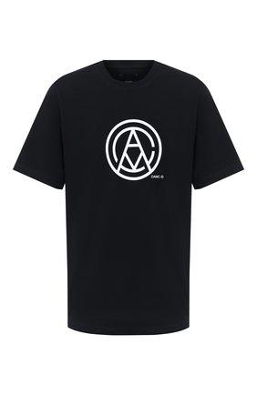 Мужская хлопковая футболка OAMC черного цвета, арт. 0AMR708567 0R247908A | Фото 1