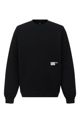 Мужской хлопковый свитшот OAMC черного цвета, арт. 0AMR706682 0R243708B | Фото 1
