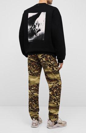 Мужской хлопковый свитшот OAMC черного цвета, арт. 0AMR706682 0R243708B | Фото 2