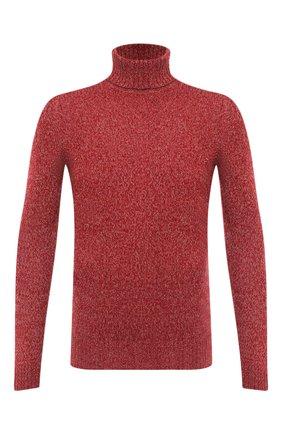 Мужской кашемировый свитер LORO PIANA красного цвета, арт. FAG3513 | Фото 1