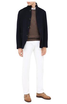 Мужской кашемировый пиджак LORO PIANA темно-синего цвета, арт. FAL2980 | Фото 2