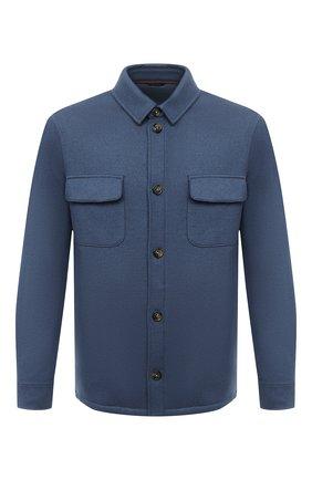 Мужская кашемировая куртка LORO PIANA синего цвета, арт. FAL3156 | Фото 1