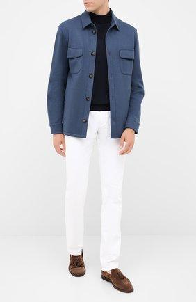 Мужская кашемировая куртка LORO PIANA синего цвета, арт. FAL3156 | Фото 2