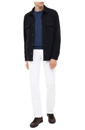 Мужская кашемировая куртка LORO PIANA темно-синего цвета, арт. FAL3156 | Фото 2