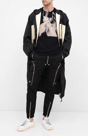 Мужская хлопковая футболка RELIGION черного цвета, арт. 10BKNF02 | Фото 2