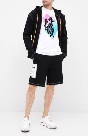 Мужская хлопковая футболка RELIGION белого цвета, арт. 10TSHG05 | Фото 2