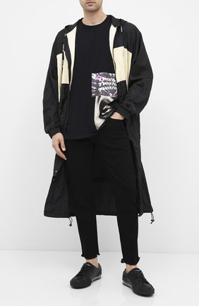 Мужская хлопковая футболка RELIGION черного цвета, арт. 10BTWG95 | Фото 2