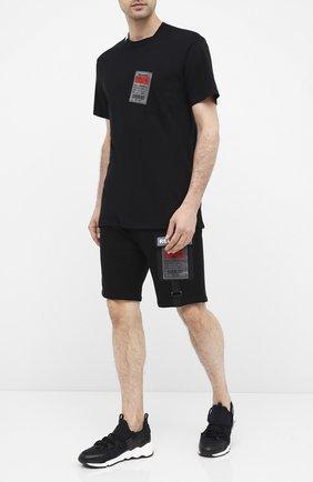 Мужская хлопковая футболка RELIGION черного цвета, арт. 10BMBG95 | Фото 2