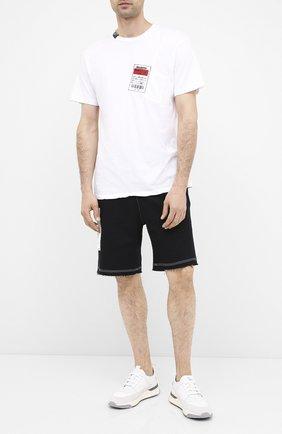 Мужская хлопковая футболка RELIGION белого цвета, арт. 10BMBG95 | Фото 2