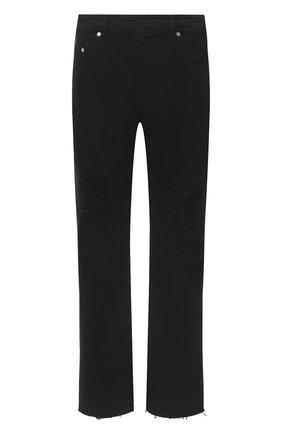 Мужские джинсы NEIL BARRETT черного цвета, арт. PBDE309/P801T | Фото 1