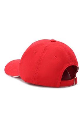Мужской хлопковая бейсболка HUGO красного цвета, арт. 50431807 | Фото 2