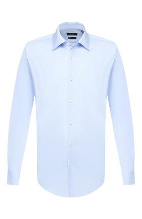 Мужская сорочка BOSS голубого цвета, арт. 50432597 | Фото 1