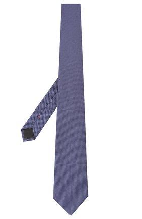 Мужской шелковый галстук HUGO фиолетового цвета, арт. 50434562 | Фото 2