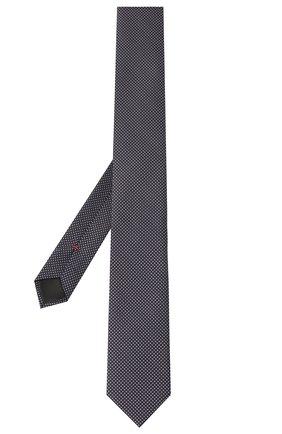 Мужской шелковый галстук HUGO сиреневого цвета, арт. 50434514 | Фото 2