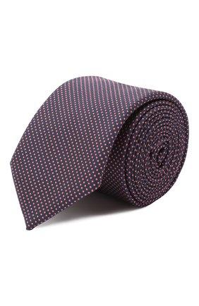 Мужской шелковый галстук HUGO красного цвета, арт. 50434514 | Фото 1