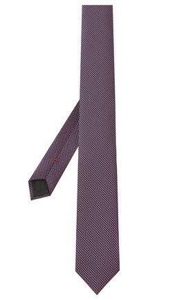 Мужской шелковый галстук HUGO красного цвета, арт. 50434514 | Фото 2