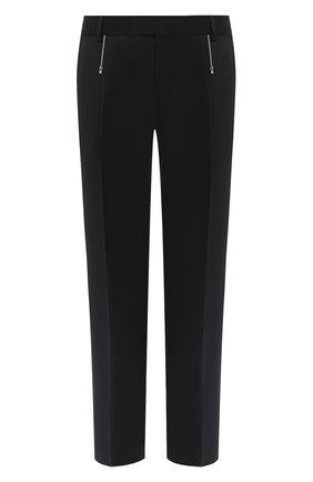 Мужской шерстяные брюки HUGO черного цвета, арт. 50432366 | Фото 1