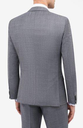 Мужской шерстяной костюм HUGO серого цвета, арт. 50433621 | Фото 3
