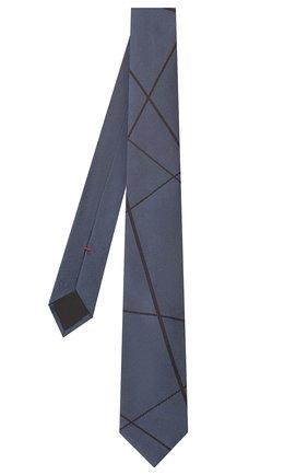 Мужской шелковый галстук HUGO темно-синего цвета, арт. 50434509 | Фото 2