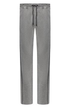 Мужской хлопковые брюки CROW'S EYE серого цвета, арт. LE 54 | Фото 1
