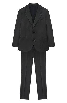Детский костюм из пиджака и брюк EMPORIO ARMANI серого цвета, арт. 8N4V02/4N19Z | Фото 1