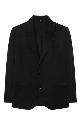 Детский костюм из пиджака и брюк EMPORIO ARMANI черного цвета, арт. 8N4V02/4N19Z | Фото 2