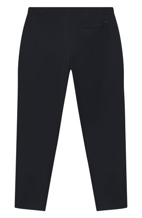 Детские брюки EMPORIO ARMANI темно-синего цвета, арт. 6H4PG5/4N4FZ | Фото 2