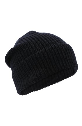 Детский комплект из шапки и шарфа EMPORIO ARMANI темно-синего цвета, арт. 407511/0A759 | Фото 2