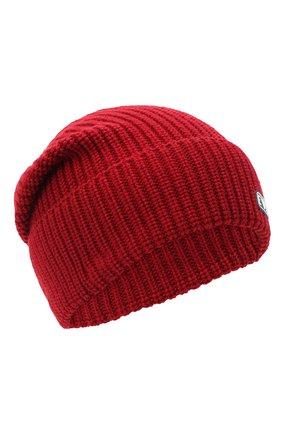 Детский комплект из шапки и шарфа EMPORIO ARMANI красного цвета, арт. 407511/0A759 | Фото 2