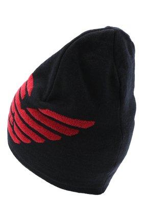 Детский комплект из шапки и шарфа EMPORIO ARMANI красного цвета, арт. 407510/0A758   Фото 3