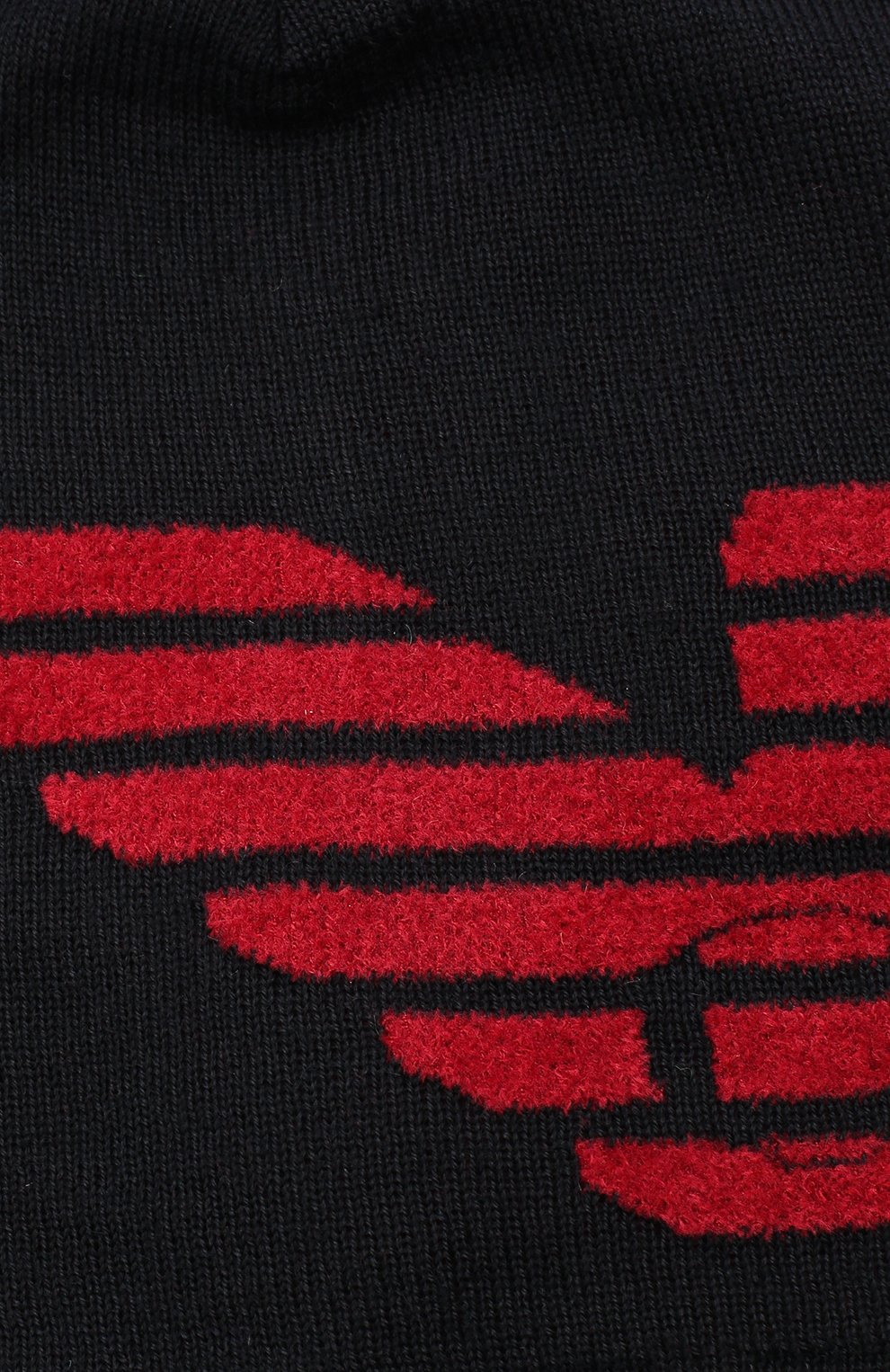 Детский комплект из шапки и шарфа EMPORIO ARMANI красного цвета, арт. 407510/0A758   Фото 5