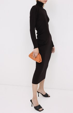 Женские кожаные мюли BOTTEGA VENETA черного цвета, арт. 592015/VBRR0 | Фото 2