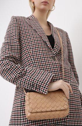 Женская сумка BOTTEGA VENETA светло-розового цвета, арт. 609412/VCPP5 | Фото 2