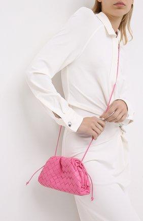 Женский клатч pouch 20 BOTTEGA VENETA розового цвета, арт. 585852/VCPP1 | Фото 2
