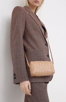 Женская сумка BOTTEGA VENETA светло-розового цвета, арт. 609407/VCPP5 | Фото 2