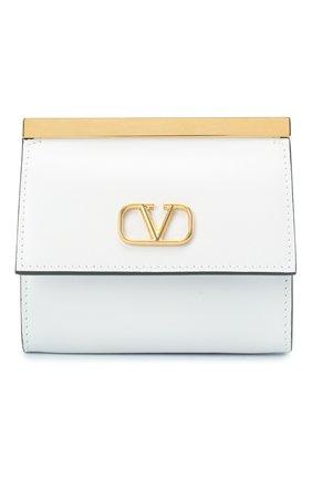 Женский кошелек на цепочке valentino garavani VALENTINO белого цвета, арт. UW2P0U25/TRC | Фото 1