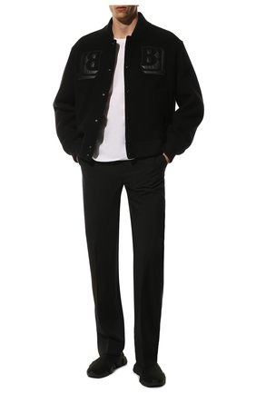 Мужские текстильные кроссовки speed 2.0 BALENCIAGA черного цвета, арт. 617239/W1701 | Фото 2