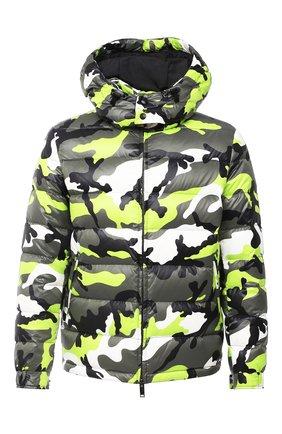 Мужская пуховая куртка VALENTINO зеленого цвета, арт. UV3CNA316FD | Фото 1