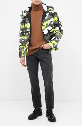 Мужская пуховая куртка VALENTINO зеленого цвета, арт. UV3CNA316FD | Фото 2