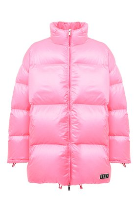 Мужская пуховая куртка VALENTINO розового цвета, арт. UV3CNB106GM | Фото 1