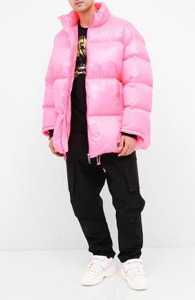 Мужская пуховая куртка VALENTINO розового цвета, арт. UV3CNB106GM | Фото 2