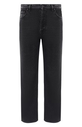Мужские джинсы VALENTINO черного цвета, арт. UV3DE00Y6H4 | Фото 1