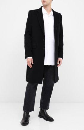 Мужские джинсы VALENTINO черного цвета, арт. UV3DE00Y6H4 | Фото 2