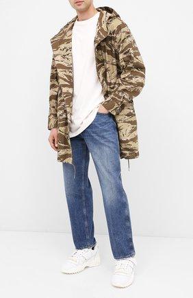 Мужские джинсы VALENTINO синего цвета, арт. UV3DE00Y6H5 | Фото 2